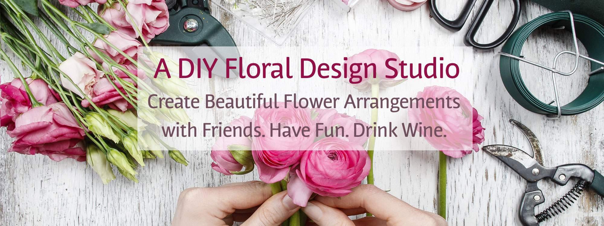 Bloom Woodstock DIY Floral Arrangement Image